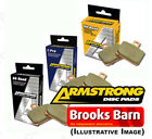 For Honda Silver wing ABS 2008 Armstrong Rear Brake Pads GG Range (FA142/2)