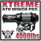 4000LB VENOM UTV WINCH KIT 2008-Current KUBOTA RTV500 & RTV400 Ci 4000 LB