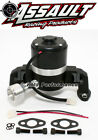 Small Block Chevy 350 Electric High Volume Water Pump Powdercoated Black