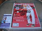MIKE TROUT SIGNED SPORTS ILLUSTRATED MAGAZINE JSA COA