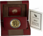 2013 W 50 1oz American Reverse Proof Gold Buffalo w Box and Cert