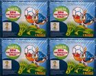 (4) 2014 Panini FIFA Road to the World Cup 50 Pack Factory Sealed Sticker Boxes