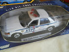 NYPD Police Car Motor Max Ford 118 Diecast In Box