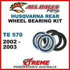 MX Rear Wheel Bearing Kit Husqvarna TE570 TE 570 2002-2003 Moto, All Balls 25-14