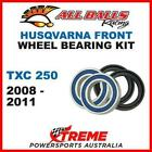 MX Front Wheel Bearing Kit Husqvarna TXC250 TXC 250 2008-2011, All Balls 25-1415