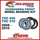 MX Front Wheel Bearing Kit Husqvarna TXC450 TXC510 2008-2010, All Balls 25-1415