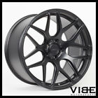 20 MRR FS01 MATTE BLACK FORGED CONCAVE WHEELS RIMS FITS LEXUS GS300 GS400 GS430