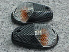 Carbon/Clear FLUSH-MOUNT TURN SIGNALS for Sportbikes
