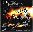 STREAM OF PASSION Live, FULLY SIGNED Ayreon Arjen Lucassen Star One CD AUTOGRAPH