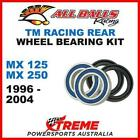Rear Wheel Bearing Kit TM Racing MX125 MX250 MX 125 250 1996-2004, All