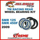 Rear Wheel Bearing Kit TM Racing SMR125 SMR450F SMR 125 450F 2009, All Balls 25-