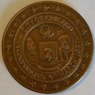 Chicago Fire Centennial Medallion Token 1871 - 1971