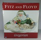 Fitz and Floyd Classics Gregorian Large Serving Bowl Santa 2006 New In Open Box