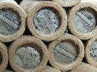 UNSEARCHED!! Wheat Penny Roll Capped with Mercury Dimes on Both Ends - R125