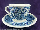 Saucer FAIR WINDS Blue/White Alfred Meakin