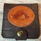 Cape Buffalo Leather RIFLE CARTRIDGE / AMMO / SHELL CARRIER CASE POUCH