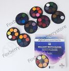 Brilliant DYE BASED Vibrant Watersoluble Paint Set KOH I NOOR Round Watercolors