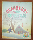 Cranberry Christmas Wende Harry Devlin FIAR book Vol 1 Hardcover 1976