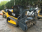 2014 JCB 300T Track Skid Steer w Bradco Forestry Cutter
