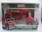 Funko Pop Rides NYCC Convention Exclusive 2015 Deadpool's Chimichanga Truck