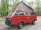 Volkswagen Bus Vanagon SYNCRO Westfalia PopTop Expedition Vehicle 1989 syncro turbo diesel westfalia camper only 48 k mi expedition vehicle nice