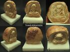 LP TUAD STATUE BUDDHA STONE RELICS 300 YHOD THAI AMULET REAL POWER