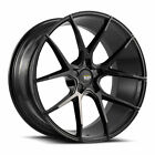 20 SAVINI BM14 GLOSS BLACK CONCAVE WHEELS RIMS FITS LEXUS GS350 GS450H GS460