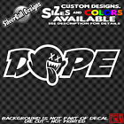 Dope Boo Custom Vinyl Decal Sticker Car Truck Window Nintendo Jdm Drift Illest