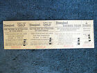 1977 vtg rare Disneyland Child MainGate Admission Tour ticket original 1970s