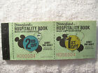 1977 vtg rare Disneyland Adult ticket coupon book booklet main gate admission a