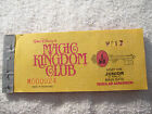 1977 Disneyland Junior Magic Key ticket coupon book booklet main gate admissions