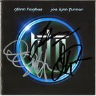 GLENN HUGHES JOE LYNN TURNER PROJECT, Deep Purple SYKES Rainbow Autograph SIGNED