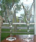 2 WATERFORD CELEBRATION JOY BALLOONS IN FLIGHT CHAMPAGNE FLUTES / MINT COND
