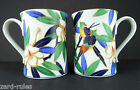 Takahashi San Francisco Tropicale Coffee Cups Mugs (Set of 2)