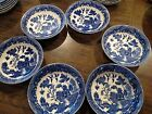 6 Blue Willow Berry Fruit Dessert Bowls (SET) 5 3/4