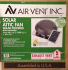 Air Vent Inc. Roof-Mounted Solar Powered Attic Fan 1200sq.ft. 800 CFM NPSP8WW