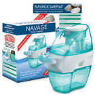 NAVAGE FACTORY REFURB BUNDLE Nose Cleaner  30 SaltPods 8995 new Neti Pot