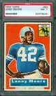 1956 Topps #60 - Lenny Moore (RC) - PSA 7 -- Baltimore Colts HoF Rookie