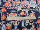 Fabric 24 Inches Fall Scarecrows Pumpkin Acorn Grapes Sunflower Patch Cotton