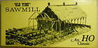 FINE SCALE MINIATURES HO SCALE SAW MILL CRAFTSMAN KIT--KIT#170