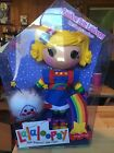 Rainbow Brite Custom OOAK Lalaloopsy Doll & Twink Sprite In Custom Box