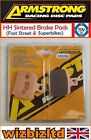Armstrong Front HH Brake Pad Derbi Mulhacen 125 Cafe (Cast) 2008-10 PAD320256