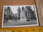 1940's Puoneer Donner Monument CA RPPC VINTAGE postcard