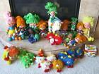 LARGE LOT of 29 Vintage 1980s RAINBOW BRITE DOLLS, HORSE, SPRITES, PUP, More