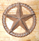 Cast Iron Stars Architectural Stress Washer Texas Lone Star Rustic Ranch 5