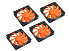 Cougar Turbine CFT12S4 Hyper Spin 1200RPM 120mm 3 pin Computer Case Fan 4 pack
