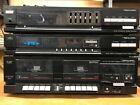 Realistic TM-601 Stereo Complete System. Antennas. Working. Dual Cassette, Tuner