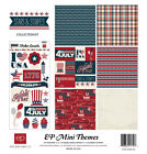 Echo Park Mini Theme Stars  Stripes Collection Kit 12 x 12