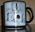 The Far Side Gary Larson Mug 1985 Cat Dog Black & White