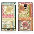 Galaxy Note 4 Skin - Ikat Floral by Kate McRostie - Sticker Decal